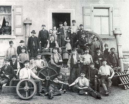 Die Georg Röth Eisengießerei feiert ihr 10jähriges Bestehen im Jahr 1900.