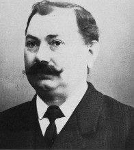 Ein Portrait des Firmengründer Georg Röth I.
