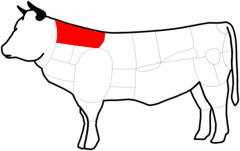 Zungenstück eines Rindes
